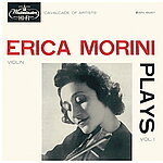 Erica Morini Plays: Vol.1